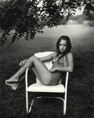 """Sally Mann, 'Untitled from the """"At Twelve"""" Series, Juliet in a White Chair', 1983-1985"""