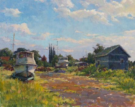 Carl Bretzke, 'Boats on a Back Lot', 2017