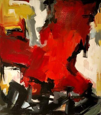 Tom Hoitsma, 'Orange Cross', 2017