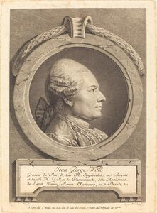Pierre-Charles Ingouf after Pierre Alexandre Wille, 'Jean George Wille', 1771