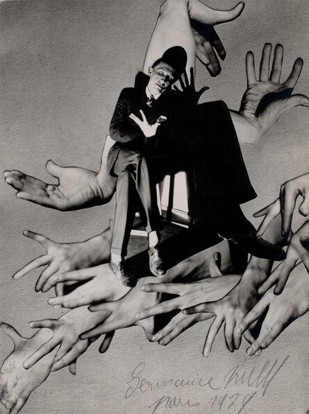Germaine Krull, 'Pol Rab (illustrator)', 1930