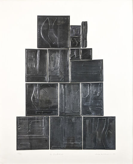 Louise Nevelson, 'The Great Wall, from Lead Intaglio Series (B. 109)', 1970