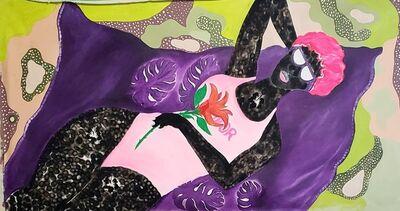 Frederick Okai Tetteh, 'The Purple Towel', 2021
