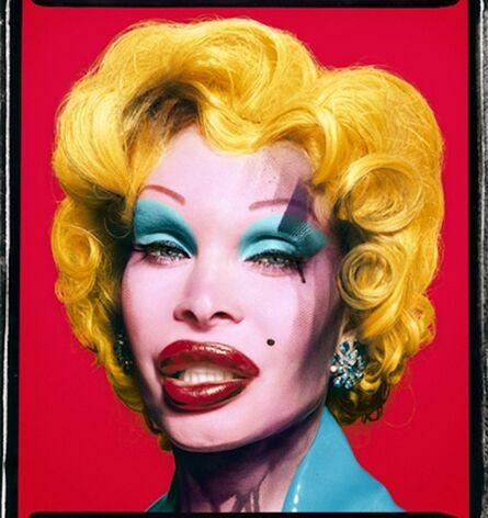 David LaChapelle, 'Amanda as Andy Warhol's Marilyn in Red, 2007', 2002