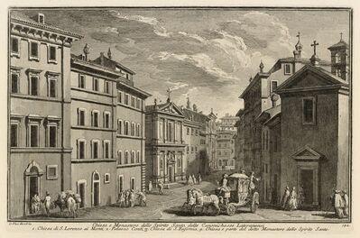 Giuseppe Vasi, 'Chiesa e Monastero dello Spirito Santo delle Canonichesse Lateranensi', 1747-1801