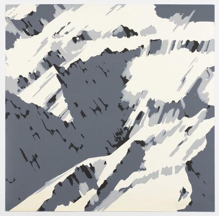 Gerhard Richter, 'Schweizer Alpen I, Motiv B1', 1969