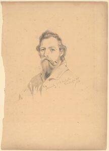 William de Hartburn Washington, 'J.Q.A. Ward', ca. 1858