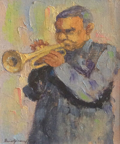 Eric Girault, 'Finding the Blue Note', 2004