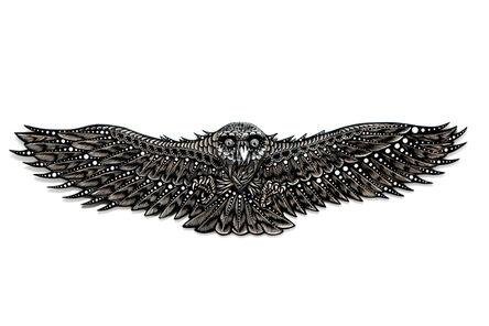 Dennis McNett, 'Owl Spirit I', 2018