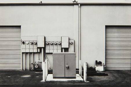 Lewis Baltz, 'North Wall, Niguel Hardware, 26087 Getty Drive, Laguna Niguel from The new Industrial Parks near Irvine, California', 1974