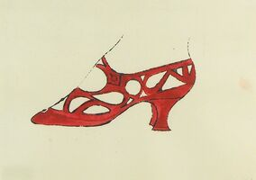 Andy Warhol, 'Shoe', 1958