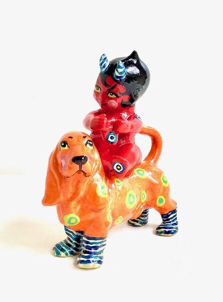 Renee Tay, 'Orange Devil Dog', 2021
