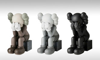KAWS, 'Passing Through (Set of Three)', 2018