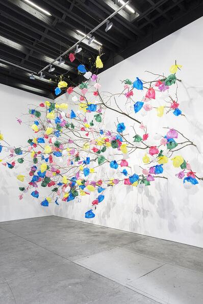 Pascale Marthine Tayou, 'Plastic tree', 2018