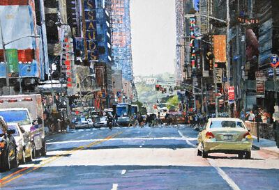 Ronald Dupont, 'Ref 965 NYC-5 (W. 42nd Street NYC) '