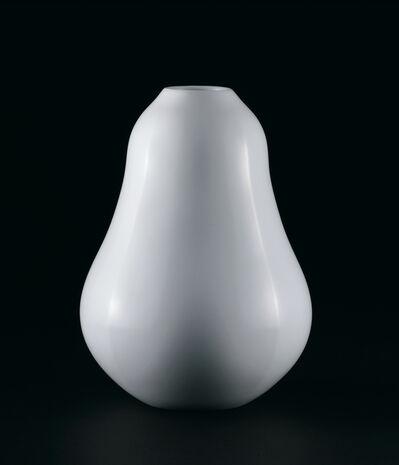 Maeta Akihiro, 'White Porcelain Faceted Jar', ca. 2021
