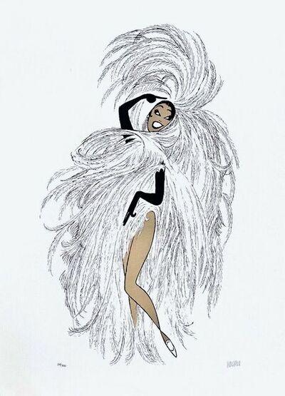 Al Hirschfeld, 'Josephine Baker in Paris - Chez Josephine', 2003