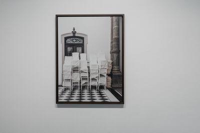 Carmen Argote, 'Draped Chairs ', 2016