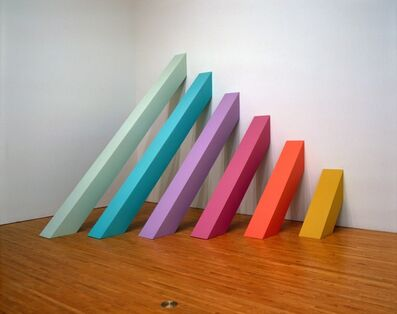 Judy Chicago, 'Rainbow Pickett', 1964 (recreated 2004)