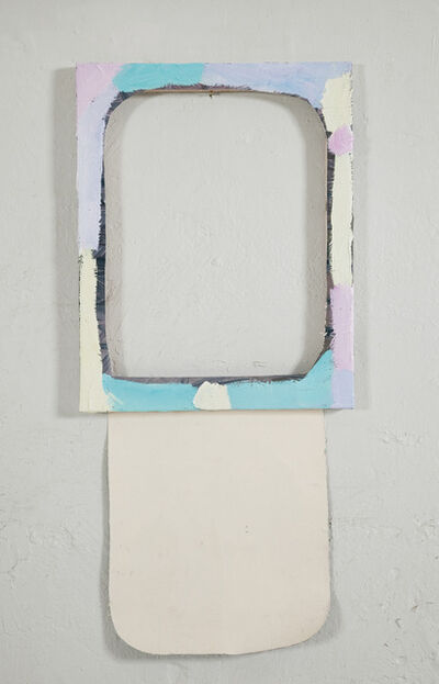 Merike Estna, 'A second small cut out painting', 2012