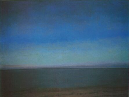 Jane Wilson (1924-2015), 'Near Night, Water Mill', 1988