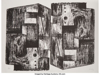 Henry Moore, 'Square Forms', 1963