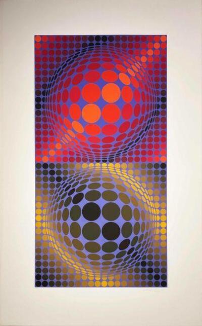 Victor Vasarely, 'Album Meta: Seven Plates 4', 1976