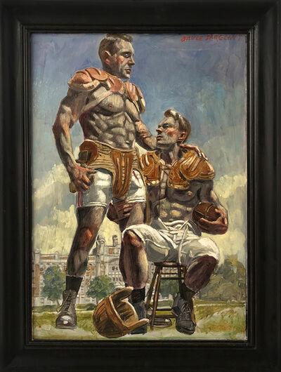 Mark Beard, '[Bruce Sargeant (1898-1938)] Football Players Waiting on the Sidelines', n.d.