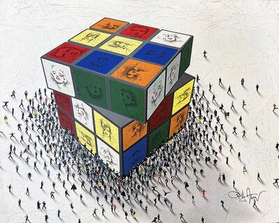 Craig Alan, 'Cubed Culture: Rubik's Cube', 2021