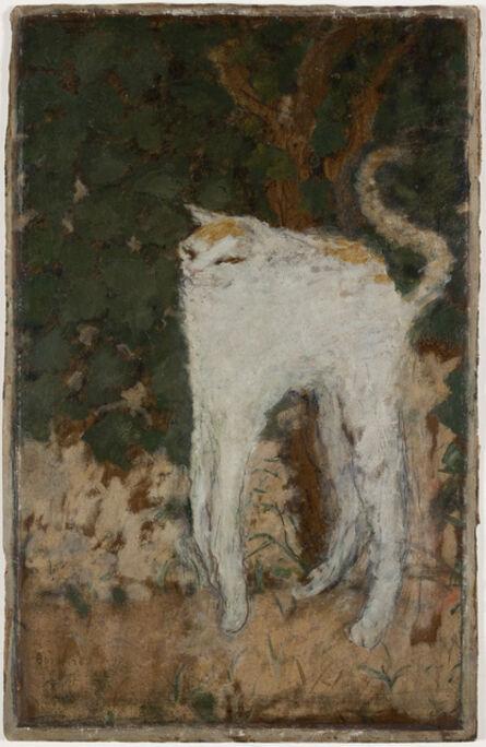 Pierre Bonnard, 'Le chat blanc (The White Cat)', 1894