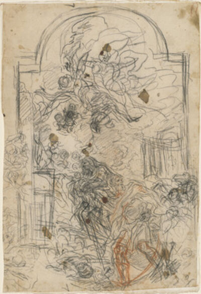 Baldassare Franceschini, 'The Flight into Egypt', 1664/1667