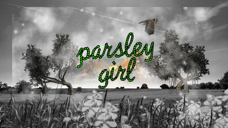 Youngmee Roh, 'Parsley Girl', 2018