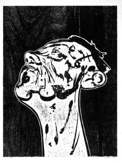 """Tony Bevan, 'untitled (from the portfolio """"Für die Pinakothek der Moderne"""")', 1994"""
