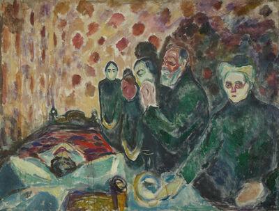 Edvard Munch, 'Death Struggle', 1915