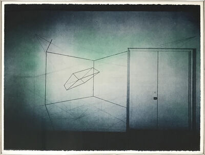 Ron Cooper (b.1943), 'Triaxial Rotation of a Floating Volume of Light', 1972