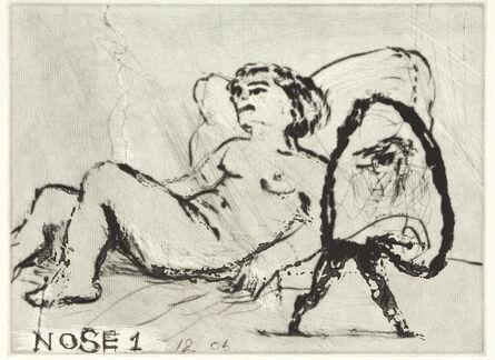 William Kentridge, 'Nose 1', 2008