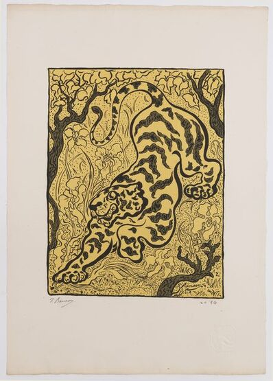 Paul Ranson, 'Tigre dans les jungles. ', 1893
