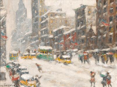 Guy Carleton Wiggins, 'Winter in New York', 1950-1960
