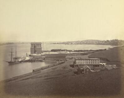 Carleton E. Watkins, 'City of Vallejo from South Vallejo', 1870