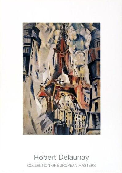 Robert Delaunay, 'Eiffel Tower', 1997