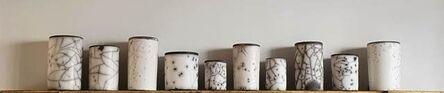 Rupert Merton, 'Raku Cylinder shelf, Begur ', 2020