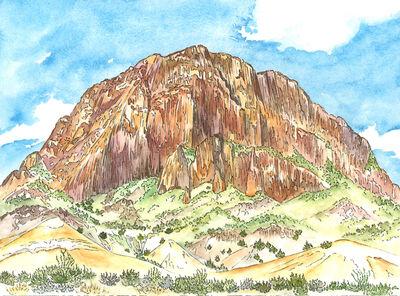 Scott Winterrowd, 'Willow Mountain, Big Bend National Park', 2015