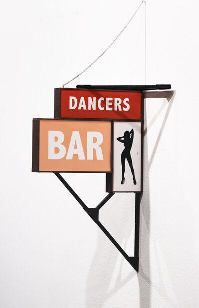 Drew Leshko, 'Dancers, Bar', 2021
