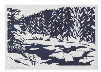 Sean Cavanaugh, 'Stream in Winter', 1980