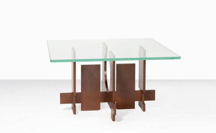"Marino di Teana, 'Coffee table ""Forme espace""(Space shape) ', 1969"
