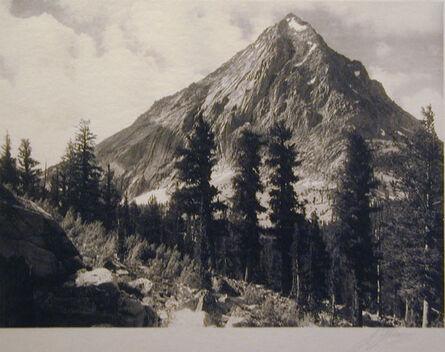 Ansel Adams, 'East Vidette', 1927