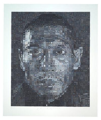 Chuck Close, 'Zhang Huan II', 2013