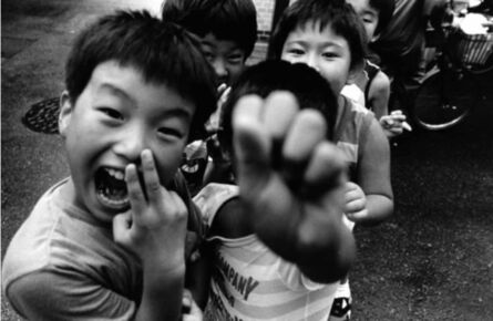 William Klein, 'Children, Tokyo', 1987