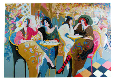 Isaac Maimon, 'Le Bistro Café', 1994
