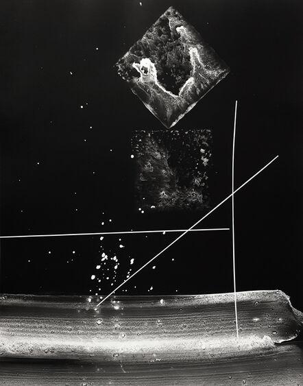 György Kepes, 'Untitled photogram', ca. 1980